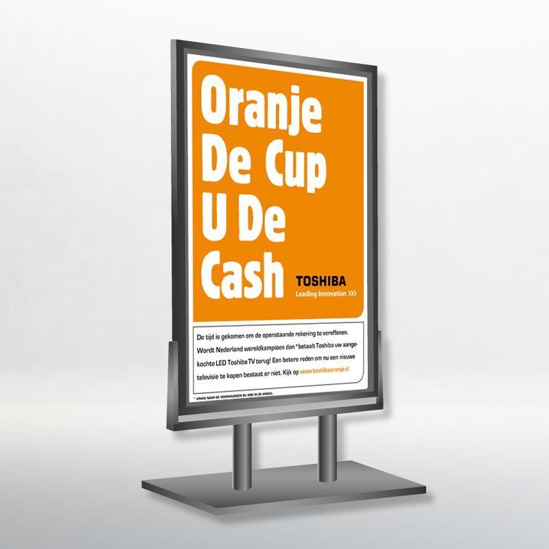 Oranje WK Dealer Refund Campagne I.s.m Toshiba Television