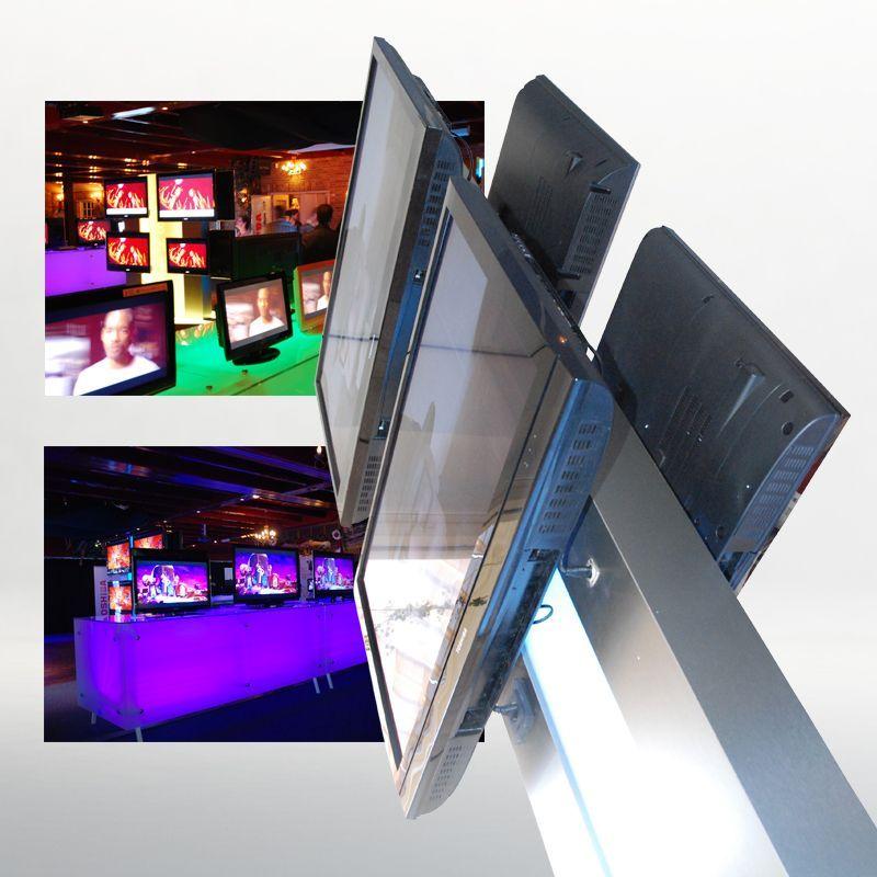 Ontwikkeling Display Materiaal Voor Toshiba Productshows