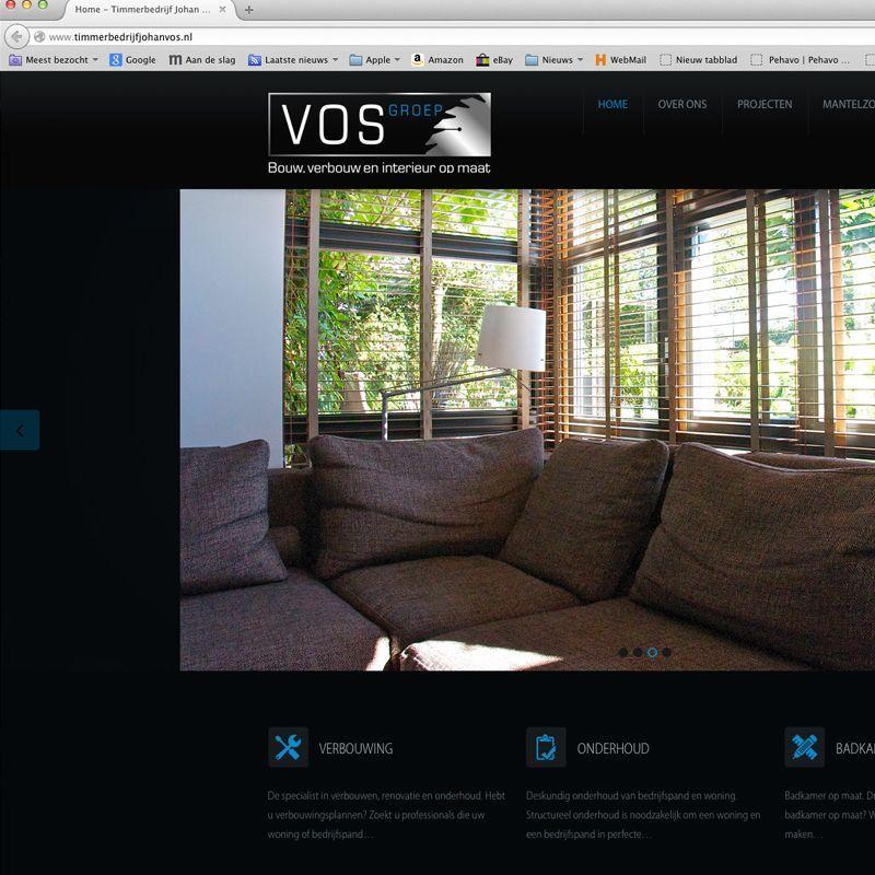 Vos Groep Internet Site