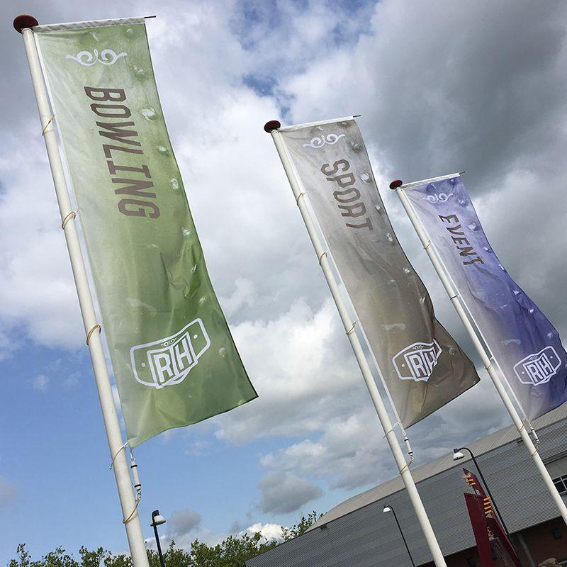 Rusheuvel Vlaggen Nieuwe Stijl