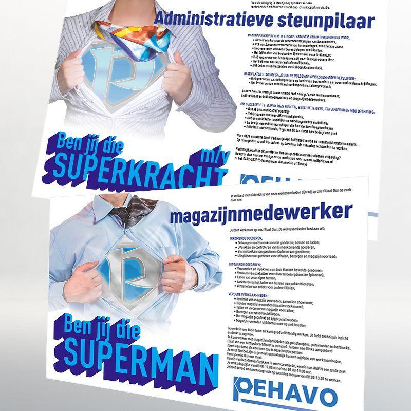 Pehavo Personeel Advertenties