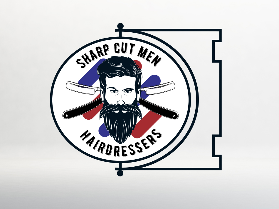 Logo Sharp Cut Men